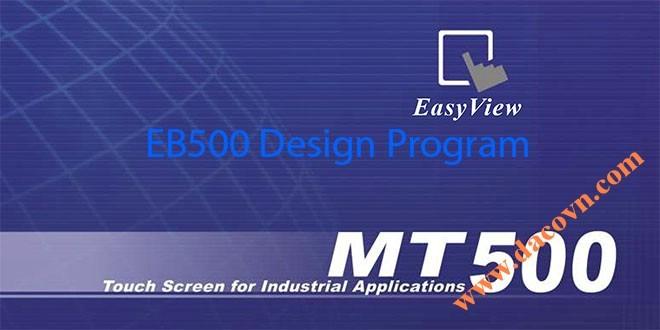 Phần mềm HMI Weintek – Easy Builder EB500