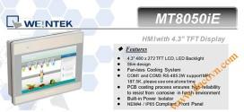 MT8050iE HMI Weintek – Easyview màn hình HMI 4.3 Inch mầu MT8050iE