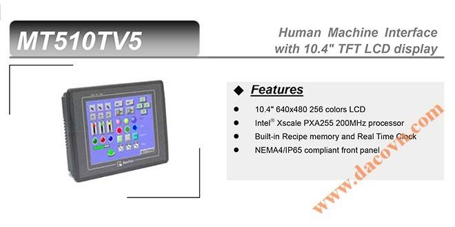 MT510T HMI Weintek – Easyview màn hình HMI 10.4 Inch Màu MT510T