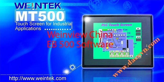 Phần mềm HMI Weinview – Easy Builder EB500 – MT500 China HMI