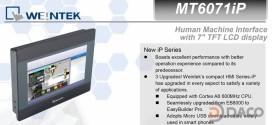 MT6071iP HMI Weintek – Easyview màn hình HMI 7 Inch Màu MT6071iP
