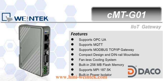 Bộ giao tiếp truyền thông IIoT Gateway Weintek cMT-G01