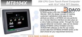 MT8104X Màn hình cảm ứng HMI Weintek 10.4 Inch
