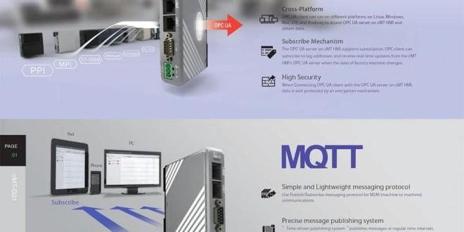 cMT Giải pháp 01: Cổng Chuyển Đổi Giao Thức Truyền Thông Gateway IIoT OPC-UA, MQTT