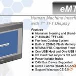 eMT607A1, Man hinh cam ung, May tinh cong nghiep HMI Weintek MT600, eMT600