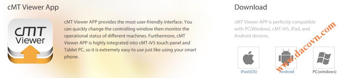 Phần mềm cMT-Viewer HMI Weintek
