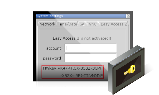 EasyAccess2.0 HWKey